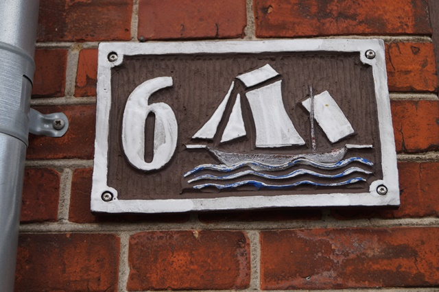 Graacksvej nummer 6 - Sejlskib